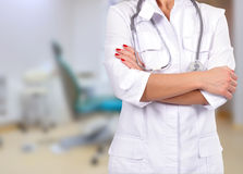 Woman doctor Stock Photo