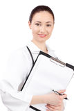 Woman doctor in uniform Royalty Free Stock Photography
