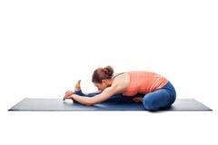 Woman doing Ashtanga Vinyasa Yoga asana Stock Photos