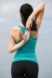 Woman doing exercises Royalty Free Stock Photo