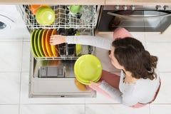 Woman Doing Housework Stock Image