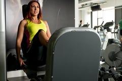 Woman Doing Leg Exercise Royalty Free Stock Photo