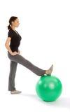 Woman doing Pilates Exercise Royalty Free Stock Photo