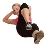 Woman Doing Sit-ups Royalty Free Stock Photo