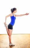 Stretching exercises Stock Image