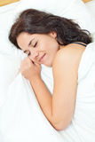 Woman dreaming Stock Image
