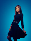 Woman in a dress Royalty Free Stock Photos