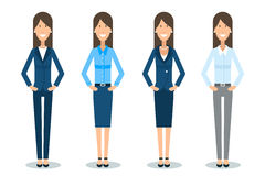 Woman dress code Stock Images