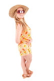 Woman dressed for summer Stock Photo