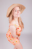 Woman dressed for summer Stock Photography