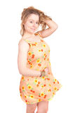Woman dressed for summer Royalty Free Stock Photography