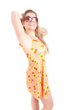 Woman dressed for summer Stock Photos