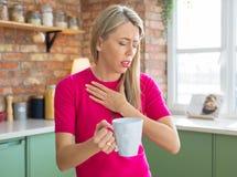 Free Woman Drinking Hot Tea Stock Photography - 177815882