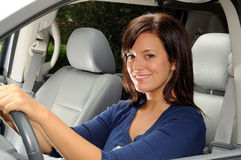 Woman Driver Royalty Free Stock Photography