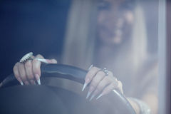 Woman driver Royalty Free Stock Photos