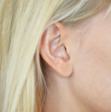 Woman ear Royalty Free Stock Image