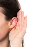 Woman ear Stock Photos