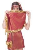 Woman in eastern dress Stock Photo