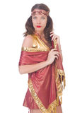 Woman in eastern dress Royalty Free Stock Images