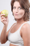 Woman eating Royalty Free Stock Photo
