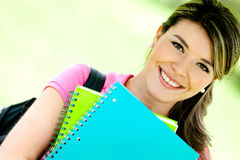 Woman education portrait Stock Photo