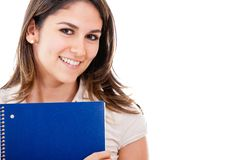 Woman education portrait Royalty Free Stock Photo