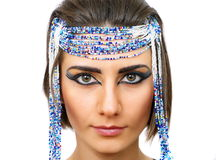 Woman with egyptian look Stock Image