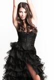Woman in elegant dress Royalty Free Stock Photo