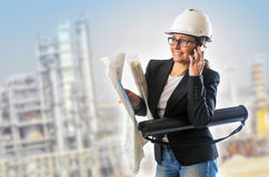 Woman Engineer Stock Images