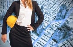 Woman engineer Stock Photos