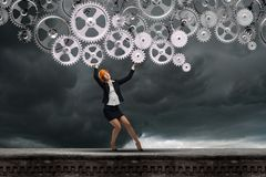 Woman engineer Royalty Free Stock Images