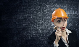 Woman engineer Stock Photos