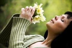 Woman enjoy Royalty Free Stock Photos
