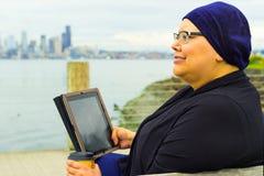 Woman Enjoys Lifestyle Post-Surgery Royalty Free Stock Photo