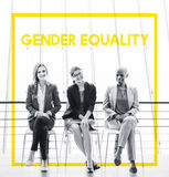 Woman Equality Gender Rights Liberation Royalty Free Stock Images