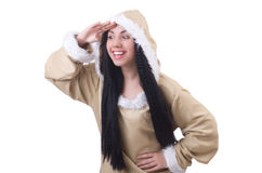 Woman eskimo Stock Photos