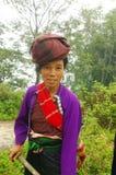 Woman of ethnic Khang White Stock Photo