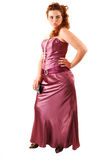 Woman in evening dress. Stock Photo