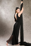 Woman in evening dress Stock Photo