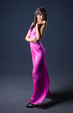 Woman in evening dress. Stock Photography