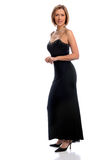 Woman in Evening Gown Royalty Free Stock Images