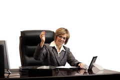 Woman Executive - Frustration Stock Photo