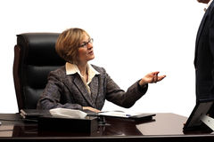 Woman Executive - Teamwork Royalty Free Stock Image