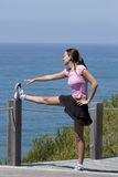 Woman exercice Royalty Free Stock Photography