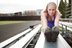 Woman exercise Stock Photos