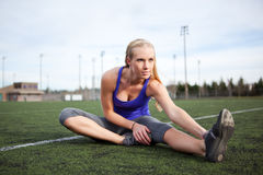 Woman exercise Royalty Free Stock Image