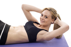 Woman - Exercise Stock Photography