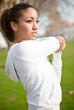 Woman exercise Royalty Free Stock Photo