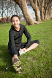 Woman exercise Stock Photography
