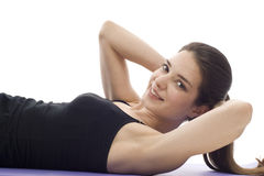 Woman - Exercise Stock Image
